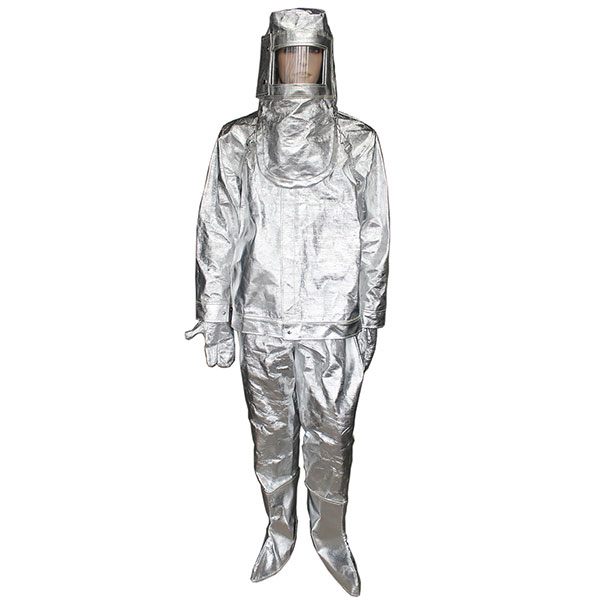 1000℃ Aluminized Fire Proximity Suit