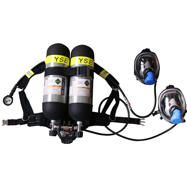 Double Cylinders Self-contained Breathing Apparatus