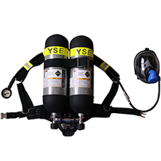 Double Cylinders Breathing Apparatus