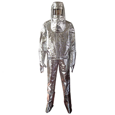 Aluminized Fire Approach Suit