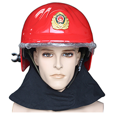 Red EN Standard <font color='red'>Firefighting</font> Helmet