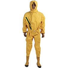 Light-duty Yellow Chemical Protective Suit