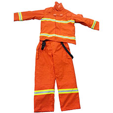 Orange Fire Rescue Gear