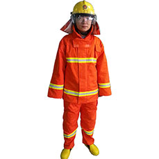 Orange Nomex Turnout Gear
