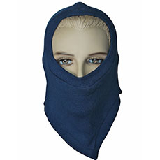 Blue Fire Safety Hood
