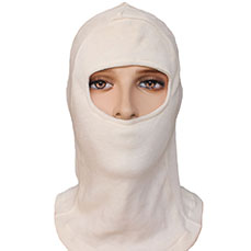 White Fire Safety Hood