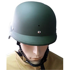 Green Anti Riot Helmet
