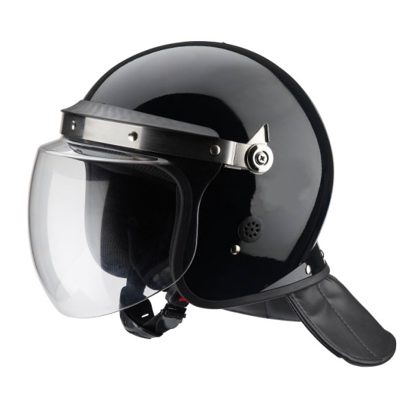 Black Anti Riot Helmet